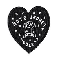Moto Jacket Society Patch