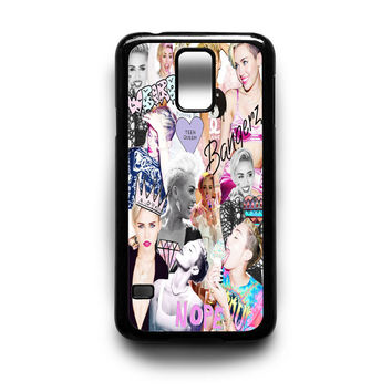 Miley Cyrus Photo collage Samsung S5 S4 S3 Case By xavanza