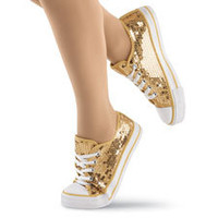 Low Top Sequin Dance Sneakers; Balera