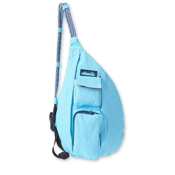 Monogrammed Kavu NEW Mini Rope Bag - Maliblue | Monogram Crossbody Bag | Teens | kids | Outdoors Satchel | Gift for Her | Canvas Sling Bag