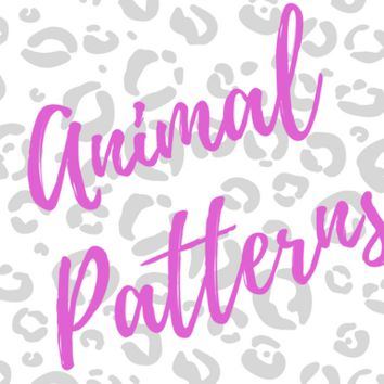 Glitterati Nail Polish Strips-  Animal Patterns