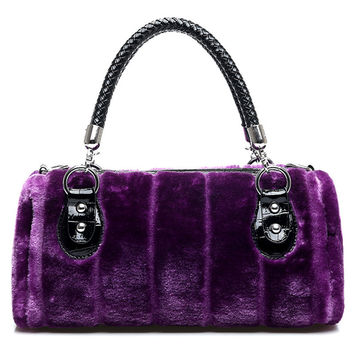 Luxury Winter Faux Fur Bags