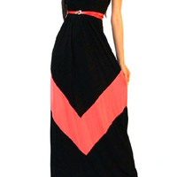 Sleeveless Bohemian Maxi Dress