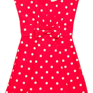 Kate Spade Toddlers' Fiorella Dress Fairytale Red Polka Dot