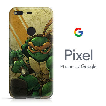 Ninjas Turtle Google Pixel Phone 3D Case