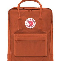 Fjallraven Kanken Durable Backpack Unisex Lovers' School Travel Bag(Brick)