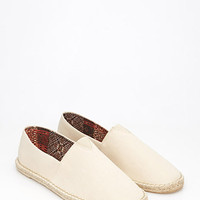 Canvas Espadrille Slip-Ons