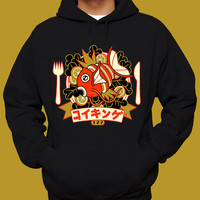 MAGIKARP HOODIE Pokemon Hoodie Sweatshirt Filet of Karp