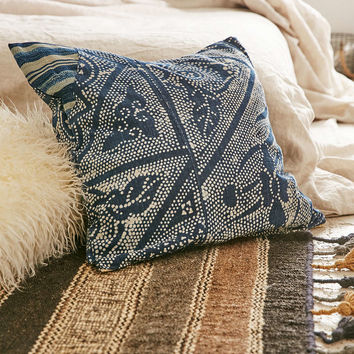 Vintage Summer Solstice Pillow - Urban Outfitters