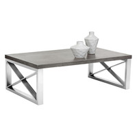 Sunpan Catalan Coffee Table Concrete