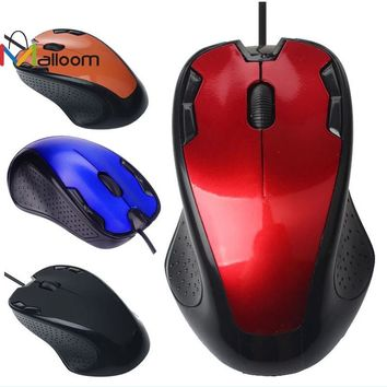 Malloom 2016 Wireless Computer Mouse Keyboard Luxury 1800 Dpi Usb Wired Optical Gaming Mouse Notebook Mice Gamer for Pc Laptop