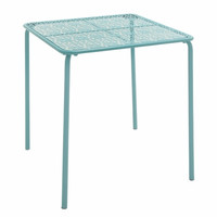 Benzara Durable and Elegant Metal Outdoor Table