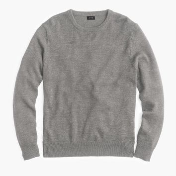 Cotton-wool crewneck sweater