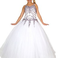 Wealth Girls' Sweetheart Evening Party Ball Gown Dresses