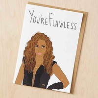 Tay Ham You're Flawless Bey Card