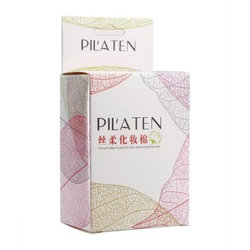 PILATEN 500 PCS Facial Cotton Pads Remover Cleaning Wipes For Skin Care And Makeup Remover