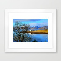 Bliss Framed Art Print by Haroulita | Society6