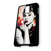 Audrey Hepburn Quotes Colorful Samsung Galaxy S5 Case