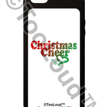 Christmas Cheer Color iPhone 5C Grip Case