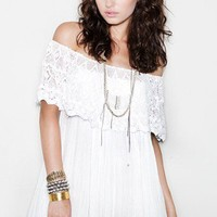 Lace Senorita in White- NEW - Shop Online