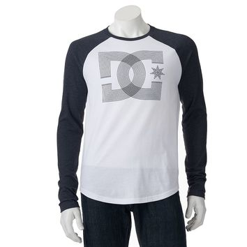DC Shoe Co Bauhaus Raglan Graphic Tee